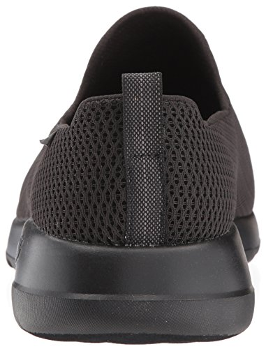 Black Skechers Mens Mesh Go Max Walk Trainers ra1AYqax