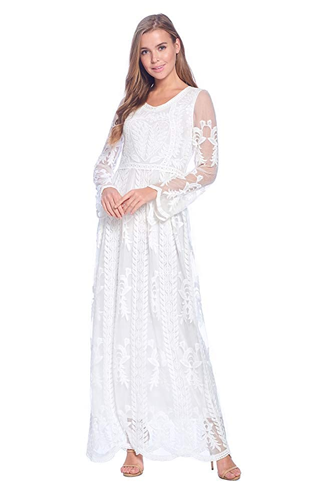 Cottagecore Dresses Aesthetic, Granny, Vintage The Yarrow Modest Dress $79.00 AT vintagedancer.com