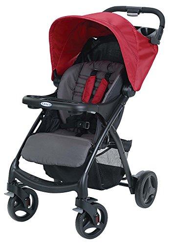 Red Baby Stroller - 9