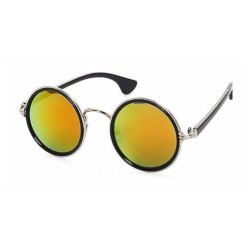 2016 New Fashion Glasses Women Men Fashion Retro Roundness Colours Sunglasses Summer 8 Colors Glasse...