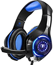 Beexcellent GM-1 Gaming Headset for PS4, PS4 Pro, PlayStation 5, Xbox One & Xbox Series X|S, Nintendo Swit