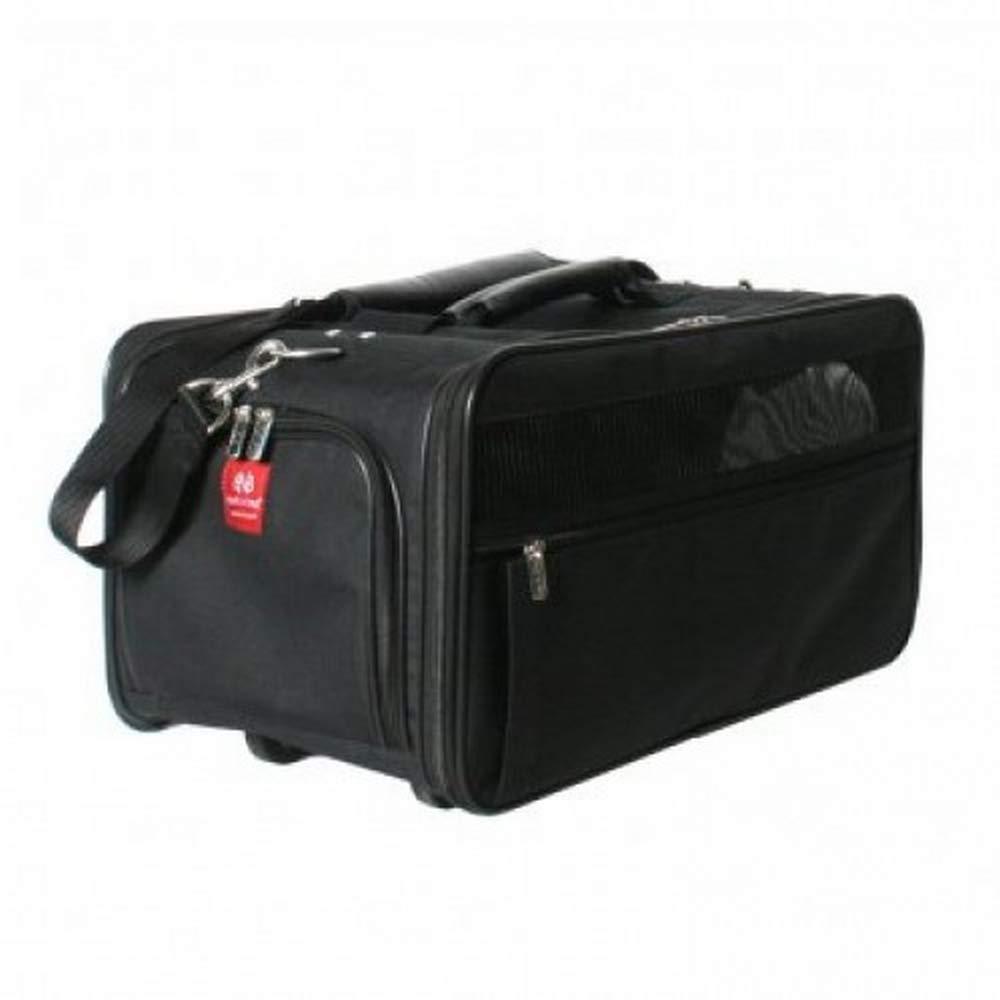 Black One Size Black One Size Bark N Bag Jetway Classic Dog Carrier (One Size) (Black)