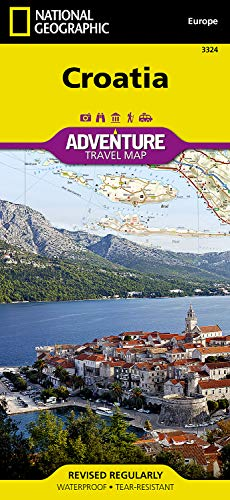 Croatia (National Geographic Adventure Map)
