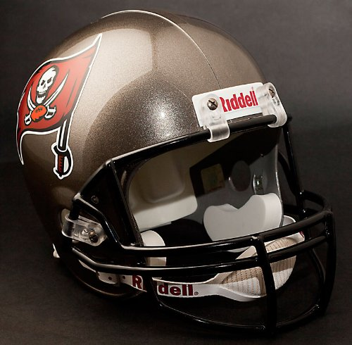 NFL Tampa Bay Buccaneers Replica Full Size Helmet, Medium, Red by Riddell