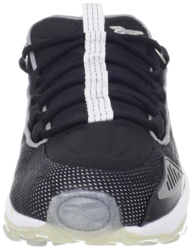 Fashion Black 10 White Reebok Reebok Run DMX Mens DMX Mens Sneaker Run xpv8wTq1