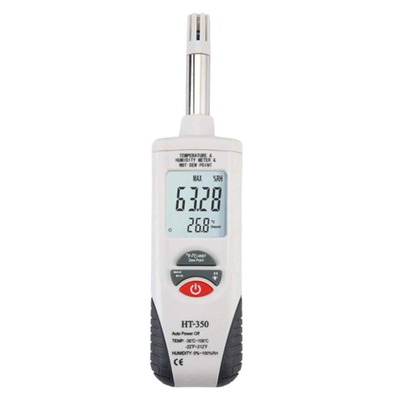 Misuratore di umidità per la misurazione della Temperatura del Display LCD con termometro ad Alta precisione HT-350 Jiobapiongxin