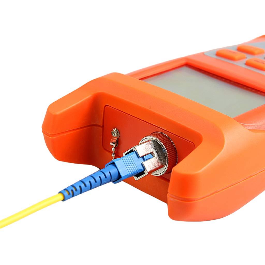 SM SunniMix 1Set -70dBm~+10dBm 850~1625nm Optical Power Meter Tester FC SC Handheld Optical Power Meter + 1mW Visual Fault Locator Pen by SM SunniMix (Image #8)
