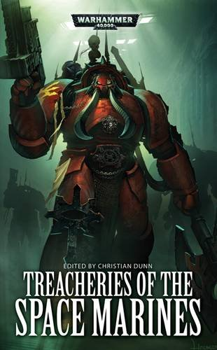 book cover of Treacheries of the Space Marines