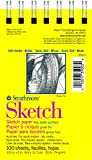 Strathmore White 300 Series Sketch Pad, 100