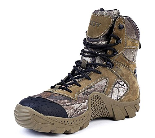 Outdoor High Rise Desert Boots Men's Anti-skid Breathable Tactical Hiking Shoes Combat Boots Athletic Shoes