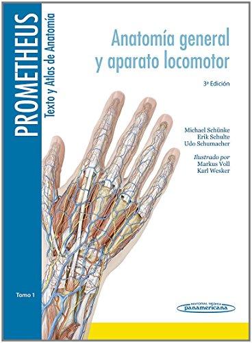 Descargar Libro Prometheus. Texto Y Atlas De Anatomía. Tomo 1. Anatomía General Y Aparato Locomotor Desconocido