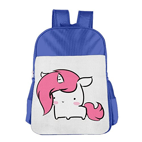 Coffee Tea Or Me Costumes (XianNonG Cute Baby Unicorn Boys And Girls Large Capacity School Bags RoyalBlue)