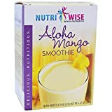 NutriWise – High Protein Diet Smoothie – Aloha Mango (7/Box) | Low Calorie, Low Sugar, Low Carb Review