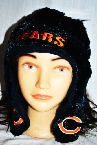 (Chicago Bears Retro Short Helmet Hat)