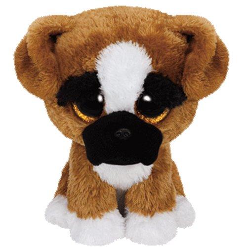 Ty Beanie Boo Plush - Brutus The Boxer Dog 15cm (Dog Beanie Plush)