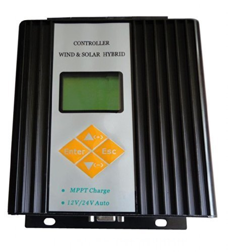 Ten-high 800w Wind Solar Hybrid Controller (600w Wind + 300w Solar) 12v/24v Auto Distinguish by Ten-high