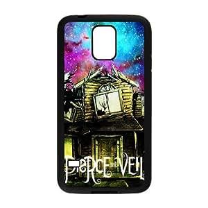 FEEL.Q- Custom Rubber Back Fits Cover Case for Samsung Galaxy S5 S V I9600 - Pierce The Veil