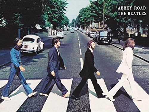 APPLEpie The Beatles Abbey Road Poster Art Prints 18 x 24 Inches