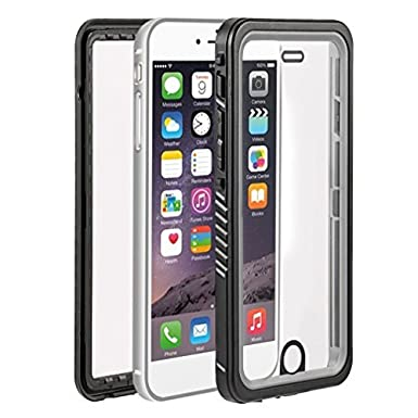 check out edb4c dea59 LESHP iPhone 7 Case Waterproof Shockproof Dustproof Snowproof Full-body  Protective Built-in Front Screen Protector Case Cover Shell for Apple  iPhone ...