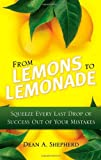 From Lemons to Lemonade, Dean A. Shepherd, 0131362739