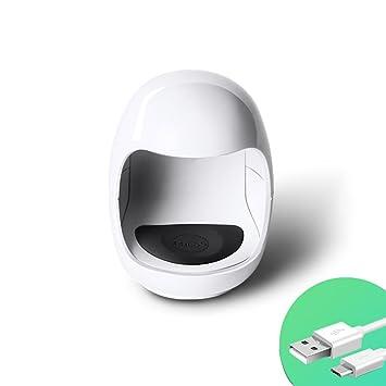 WANGXN La Mini Máquina De Sequía Rápida del Clavo del USB del Secador De Clavo del USB Llevó La Lámpara De La Fototerapia del Esmalte De Uñas: Amazon.es: ...