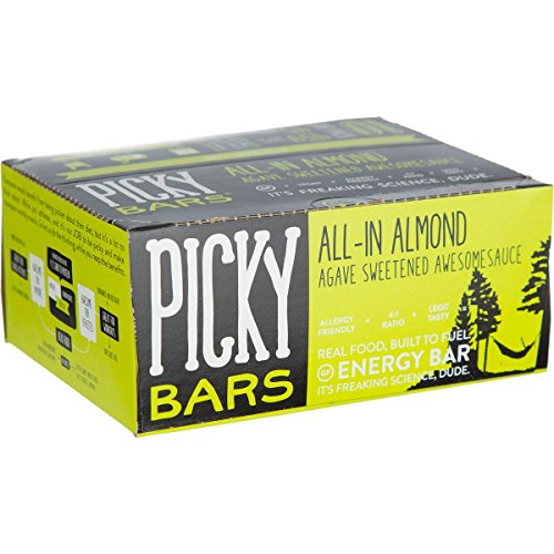Picky Bars Real Food Energy Bars All-in Almond, 10ct Carton