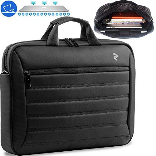 15.6 Inch Laptop Bag - Notebook Tablet Case - Messenger Bag - Briefcase for Men & Women