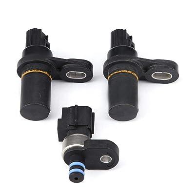 Qiilu Car Pressure Transducer Sensor Kit (3pcs) Input Output Speed Sensor for Dodge Chrysler Jeep: Automotive