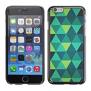 SKCASE Center / Funda Carcasa - Menta verde azul del trullo del patrón;;;;;;;; - Apple Iphone 6 Plus 5.5