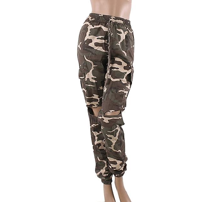 Oudan Jeans de mujer Pantalones Jeans de mujer Jeans ...