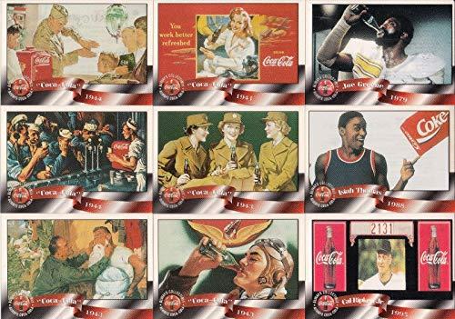 COCA COLA SPRINT PHONE CARDS CELS 1996 SCORE BOARD BASE CARD SET OF 50 CELS