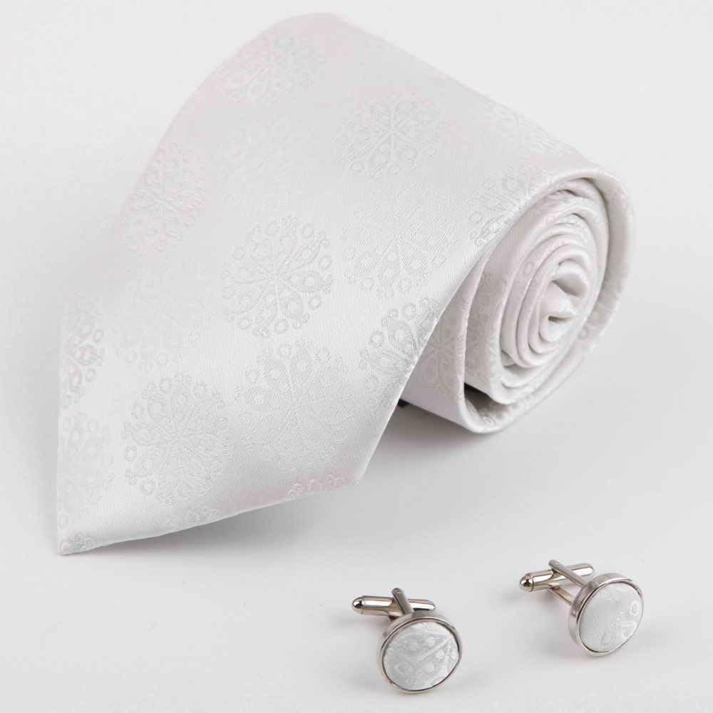 Dan Smith DAB1032 Colecci¨®n Accesorios blanca con dibujos tejidos ...