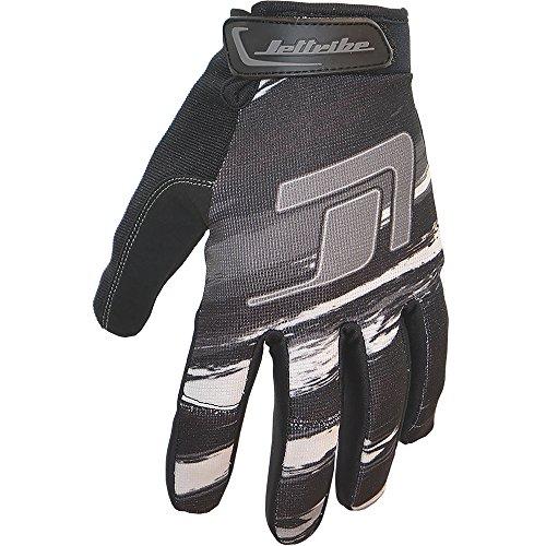 (GP-30 Jet Ski Ride Gloves - Scratch Style PWC Jetski Race Gear (Grey, XX-Large))