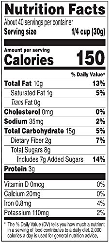 Amazon Brand - Happy Belly Dried Cranberries, Nuts & Pepitas Trail Mix, 42 ounce by Happy Belly (Image #3)