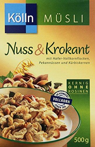 Kölln Müsli Nuss & Krokant, 7er Pack (7 x 500 g)