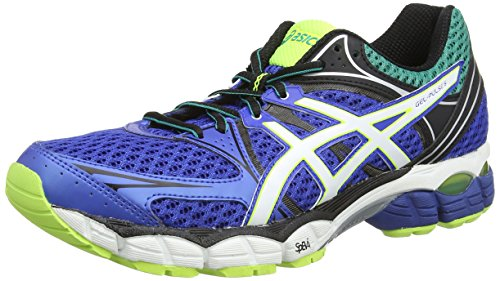 ASICS Gel-Pulse 6 - Zapatillas de deporte para hombre Azul (Blue / Snow / Flash Yellow 4200)