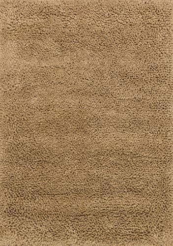 Loloi Frankie FK-01 Beige Poly Acrylic 7-Feet 6-Inch by 9-Feet 6-Inch Area Rug