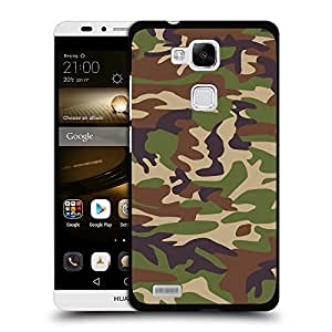 Print Motif Coque de protection Case Cover // V00002748 patrón de camuflaje // Huawei Ascend Mate 7