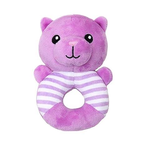 cascabeles de peluche recién nacido Anillo juguetes de peluche LT ...