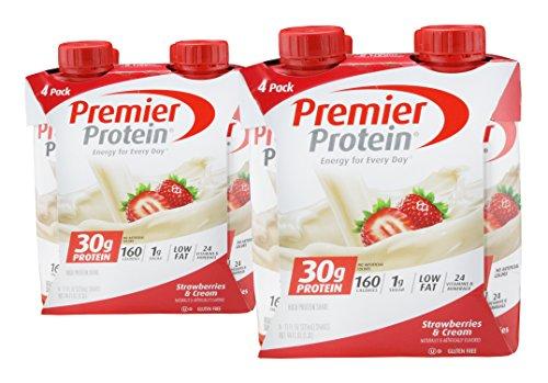 (2 Packs) Premier Protein, High Protein Shake, Strawberri...