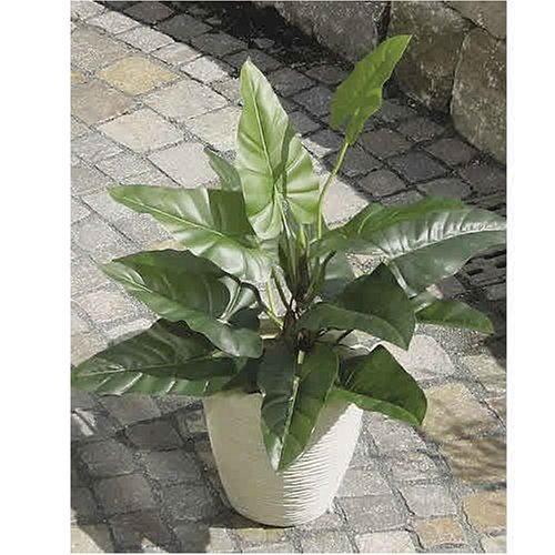 Textile Philodendron, getopft, 90cm