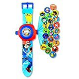 FAVTOY ISLAND - Pokemon Image Projector Digital Silicone Wristwatches for Kids - Blue