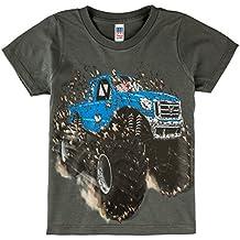 Shirts That Go Little Boys' Big Blue Monster Truck T-Shirt