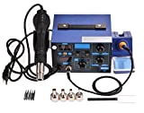 110V 2 In 1 862D SMD Hot Air Rework Station LED Digital Hot Air Gun Rework Station (US Stock)
