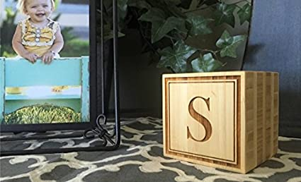 """55bbf4eedc Qualtry Personalized Wooden Blocks 3"""" x 3"""" x 3"""" Wedding  Gifts - Accents"""
