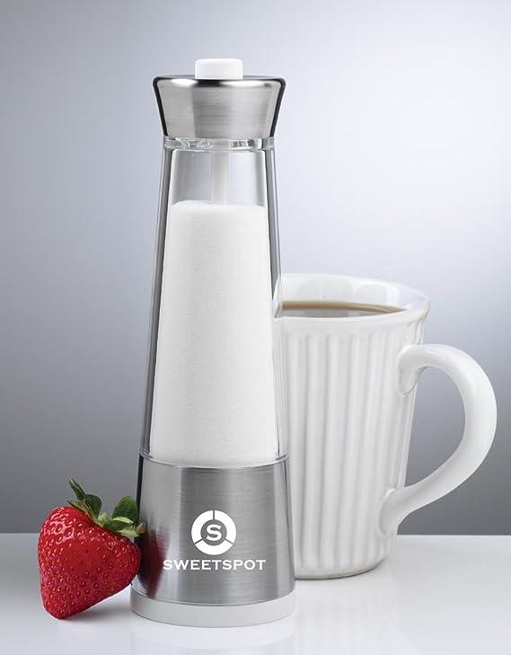 Amazon.com: SweetSpot Sugar Dispenser, Sugar Pourer, Automatic Sugar Shaker, Portion Control Sugar Jar, dispensador de azucar: Kitchen & Dining