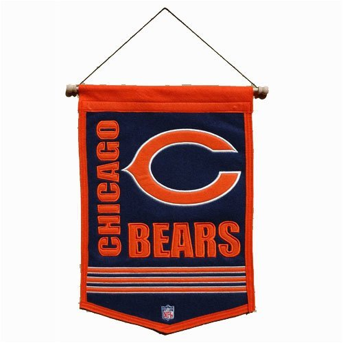 Chicago Bears Traditions (Chicago Bears Applique Banner Flag)
