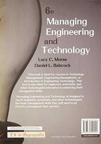 Managing Engineering and Techn