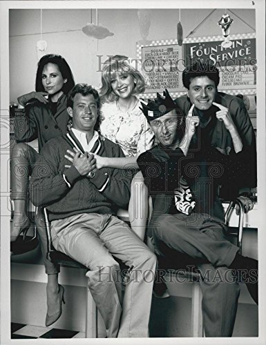1990 Press Photo Karen Kopins  Christopher Rich   Archie  To Riverdale And Back
