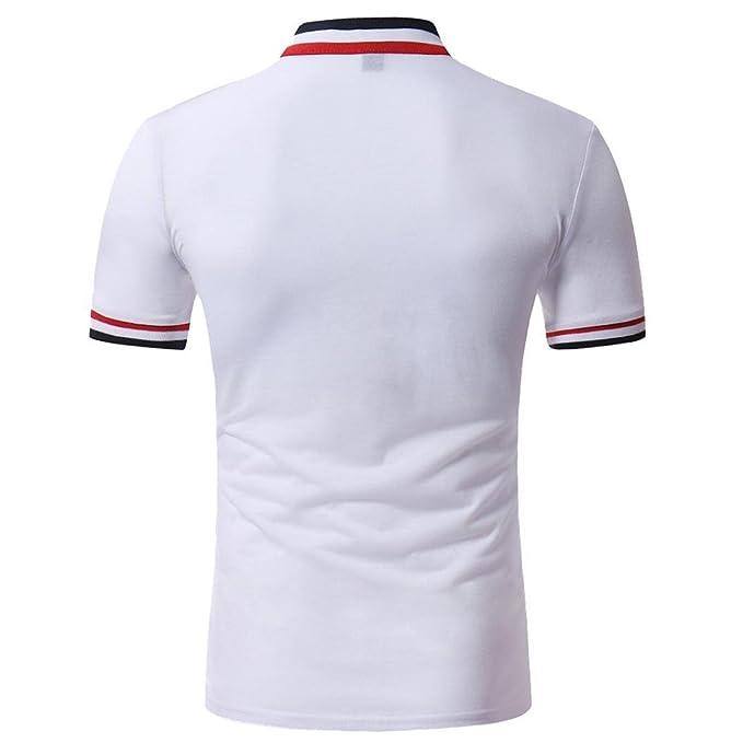 STRIR Polo para Hombre Camiseta Manga Larga Casual Ajustada Cuello Mao con Botones Yrn3rl6L